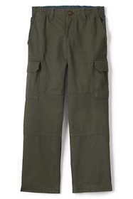 Boys Husky Iron Knee Pull On Cargo Pants
