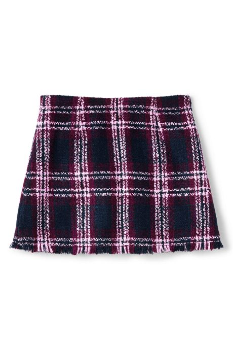 Little Girls Fringe Woven Wrap Skirt