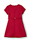 Girls' Short Sleeve Bonded Knit Dress