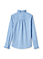 Girls' Ruffle Neck Blouse