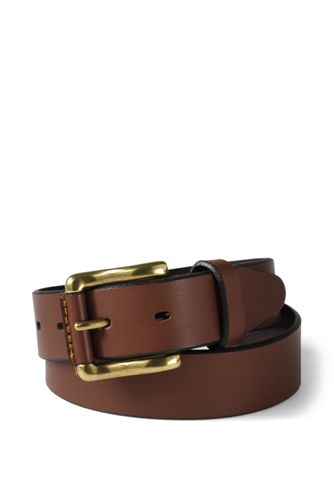 Boys' Modern Leather Belt