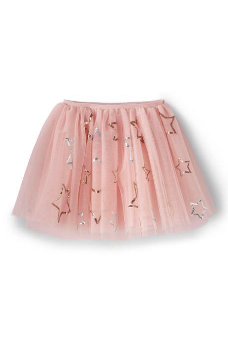 Girls Embellished Tulle Skirt