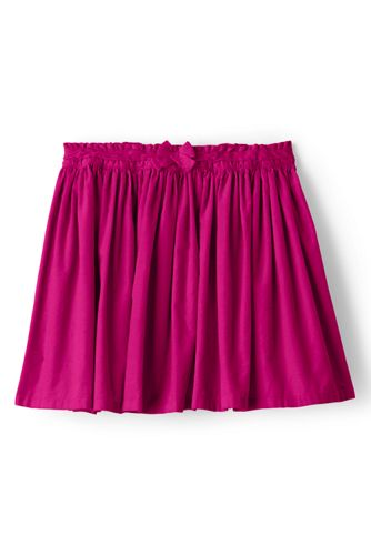 Little Girls' Gathered Cord Skirt