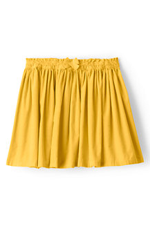Girls' Gathered Cord Skirt