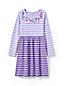 Girls' Sequin Trim Dress