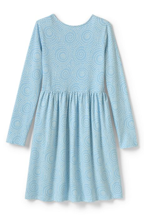 Little Girls Gathered Waist Jersey Dress