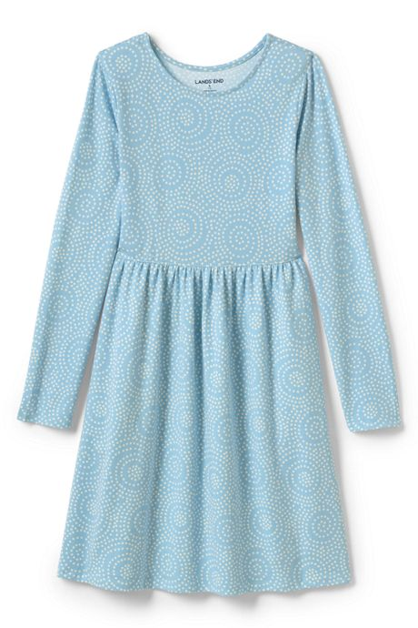 Girls Plus Gathered Waist Jersey Dress
