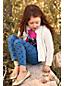 Gemusterte Denim-Jeggings für kleine Mädchen