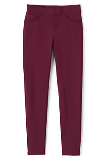 Girls' Pull-On Ponte Jersey Jeggings