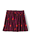 Little Girls' Gathered Cord Print Skirt