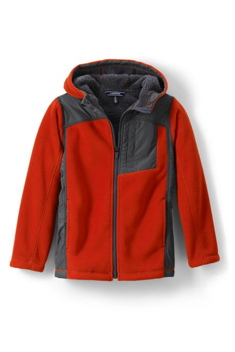 Little Boys Bonded Fleece Jacket