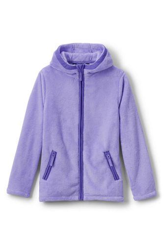 Fleece-Jacke mit Kapuze für kleine Mädchen