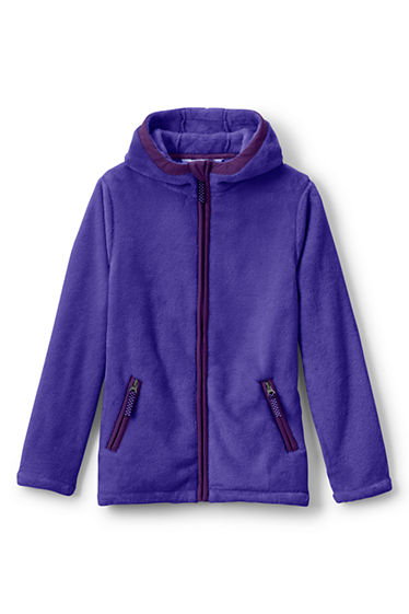 Girls Softest Fleece Jacket from Lands' End