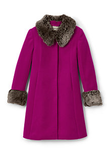 Girls' Wool Coat