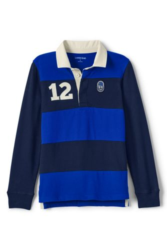 Little Boys' Colourblock Rugby Shirt