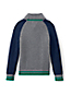 Little Boys' Colourblock Cable Shawl Collar Jumper