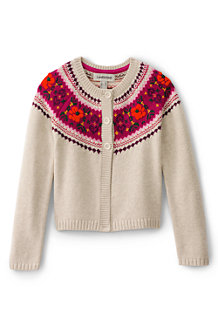 Le Cardigan Fair Isle, Fille