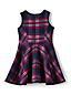 Girls' Sleeveless Bonded Knit Dress