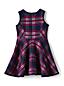 Girls' Sleeveless Bonded Knit Dress