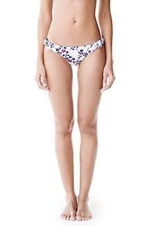 Women's Star Print Side Tie Bikini Bottoms