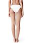 Bikinihose mit Zierschleifen, Weiß