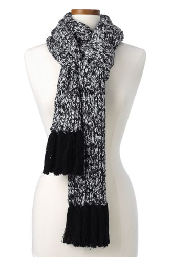 Women's Marl Knit Scarf