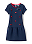Girls' Drop Waist Quilted Dress