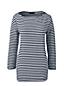 Women's Regular Boatneck Striped Top