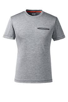 Sport Funktions-Shirt mit Brusttasche für Herren