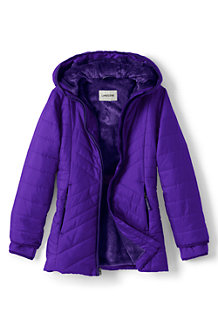 Girls' Primaloft® Fleece-lined Parka