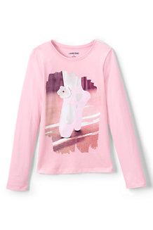 Le T-shirt Design Moderne Chic Fille