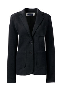 Women's Long Sleeve Jacquard Blazer