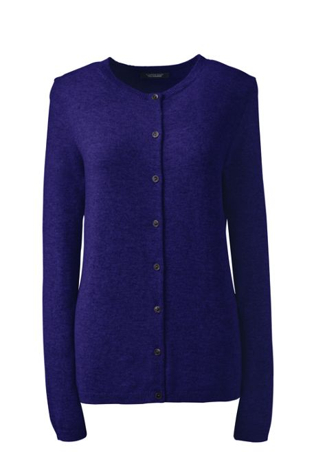 Women's Petite Cashmere Cardigan Sweater