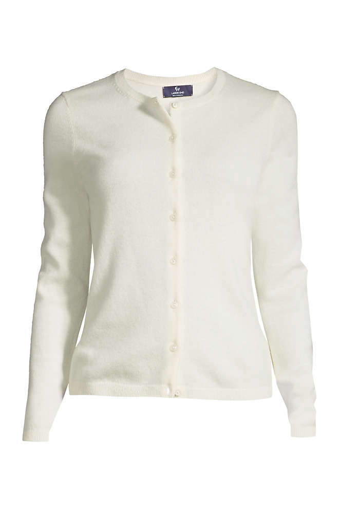 Women's Plus Size Cashmere Cardigan Sweater, Front