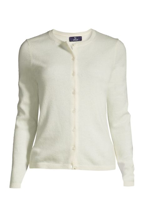 Women's Plus Size Cashmere Cardigan Sweater