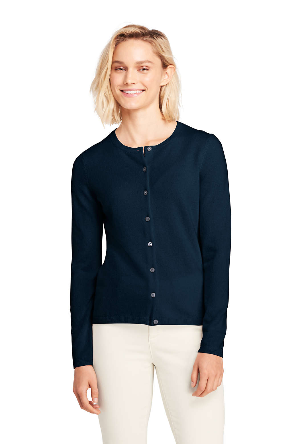 47988d3a7bf Women s Cashmere Cardigan Sweater from Lands  End