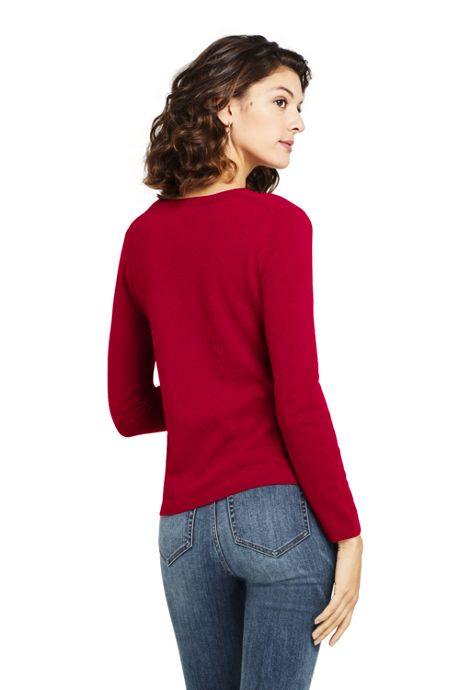 Women's Tall Classic Cashmere Cardigan Sweater