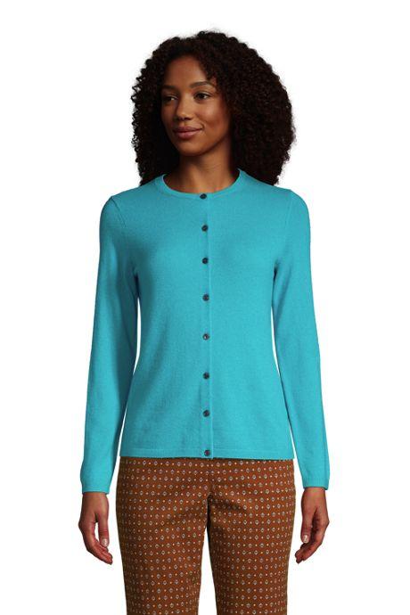Women's Tall Classic Cashmere Cardigan Sweater