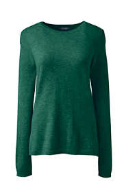 Women's Plus Size Cashmere Crewneck Sweater
