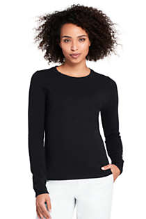 Women's Cashmere Crewneck Sweater, Front