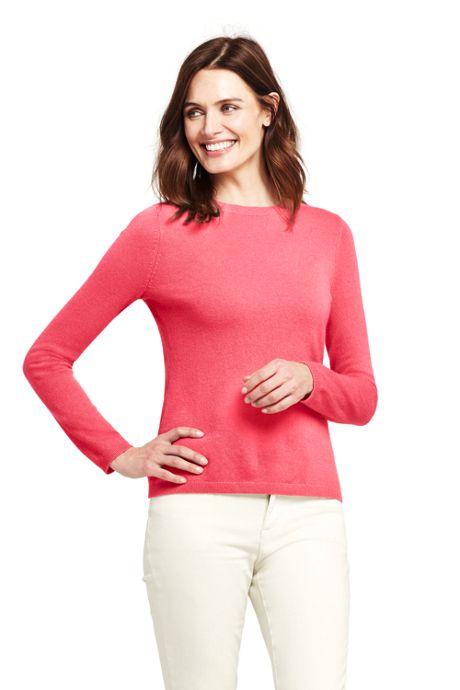 Women's Petite Cashmere Sweater