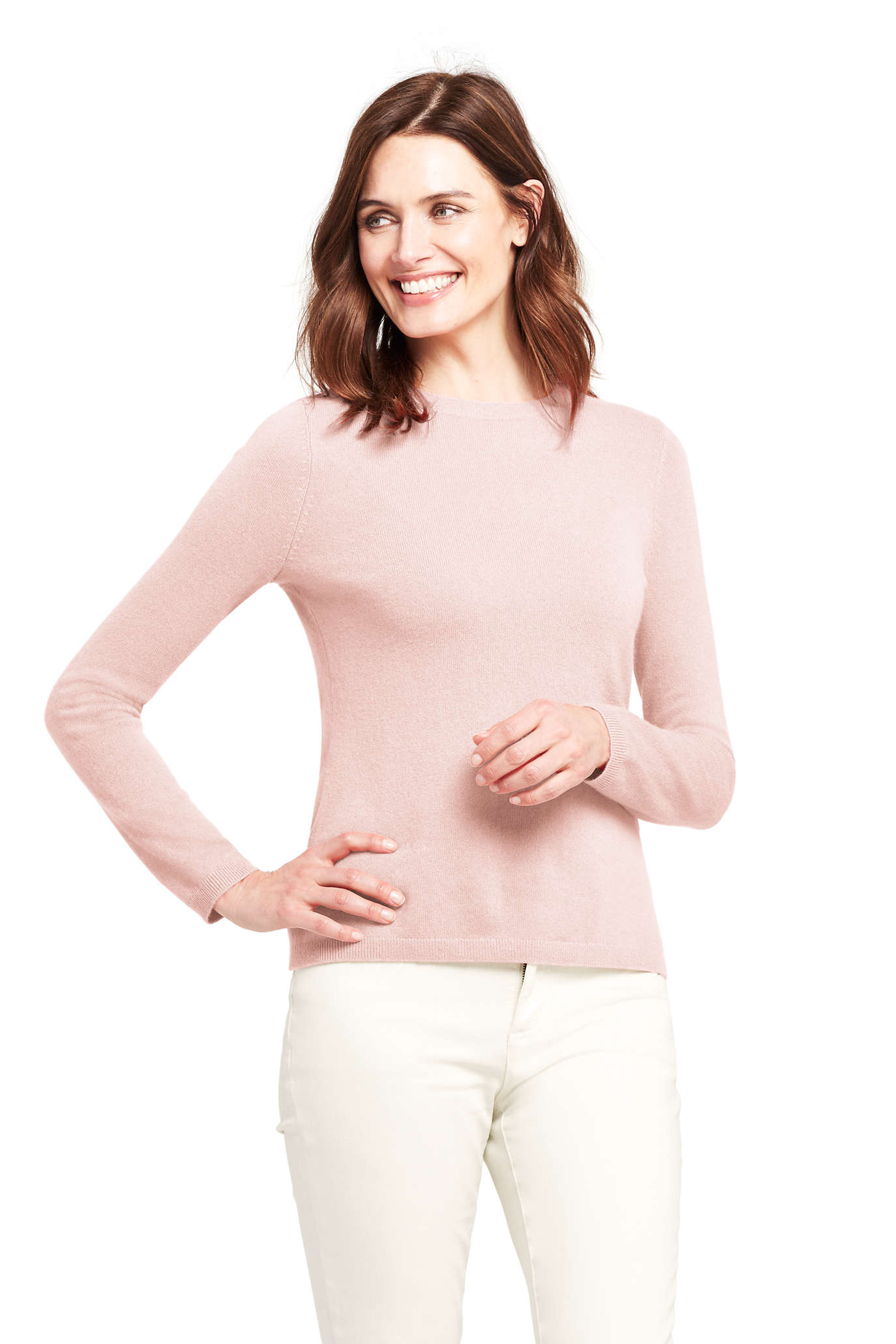 Women's Cashmere Turtleneck Sweater - Intarsia