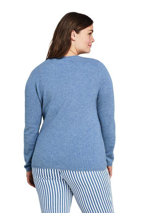 Women's Plus Size Cashmere Crewneck Sweater