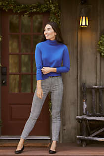 Women's Petite Cashmere Turtleneck Sweater, Unknown
