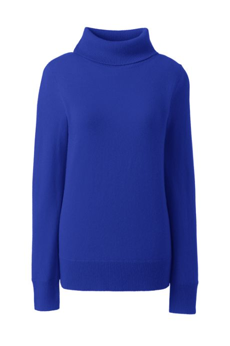 Women's Plus Size Cashmere Turtleneck Sweater