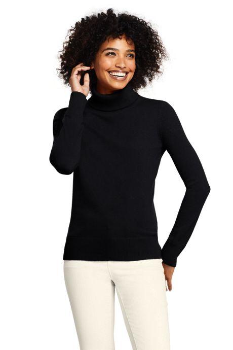 Women's Petite Cashmere Turtleneck Sweater