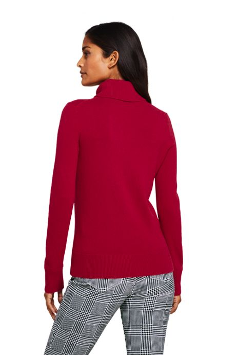 Women's Tall Cashmere Turtleneck Sweater
