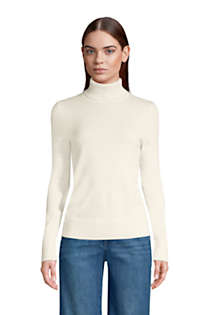 Women's Cashmere Turtleneck Sweater, Front