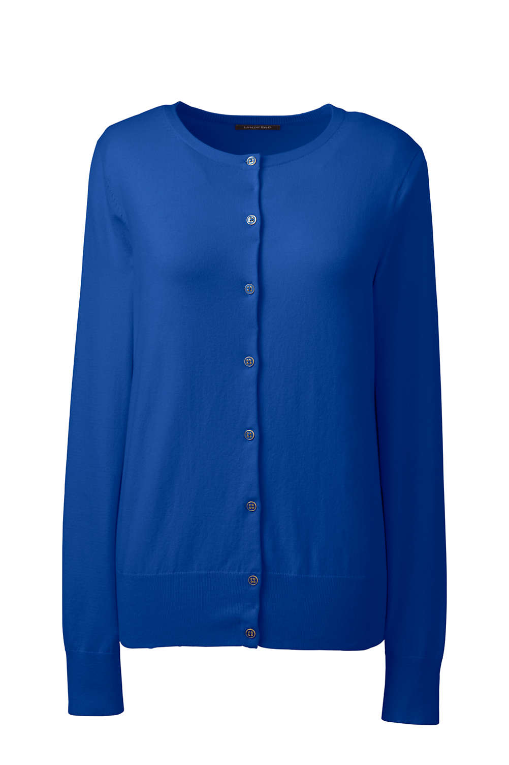 f344e3b6fab Women's Supima Cotton Cardigan Sweater from Lands' End