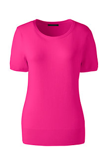 Women's Supima Short Sleeve Jumper